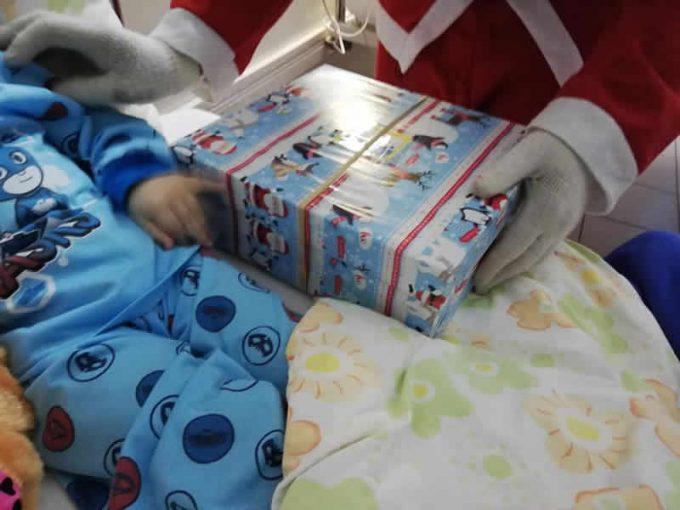 Christmas shoebox distribution